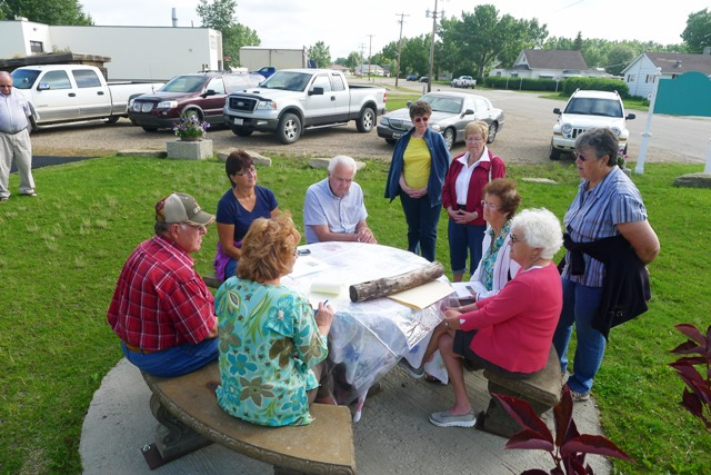 Karen interviewed the museum board and volunteers about soddies. A lot of research went into our reconstructed sod house!