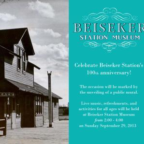 Beiseker Station Centennial Celebration